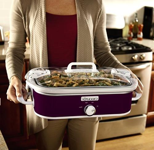 Crock-Pot Casserole Slow Cooker,
