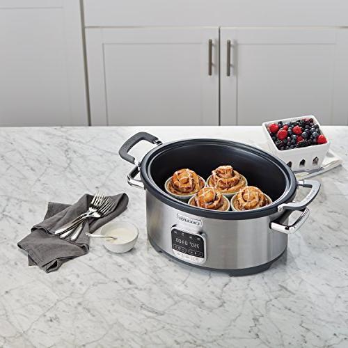 Crock-Pot SCCPVMC63-SJ 3-in-1 Multi-Cooker, Stainless