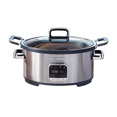 Crock-Pot SCCPVMC63-SJ 3-in-1 Stainless Steel