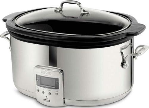 sd700450 programmable oval shaped slow cooker