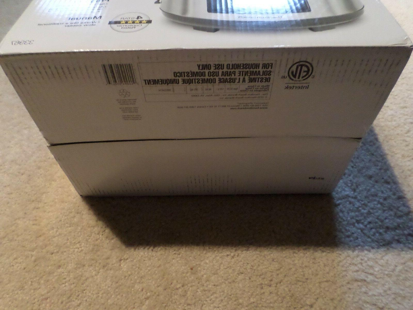 Hamilton Beach Set Forget Cooker With Temperature Probe