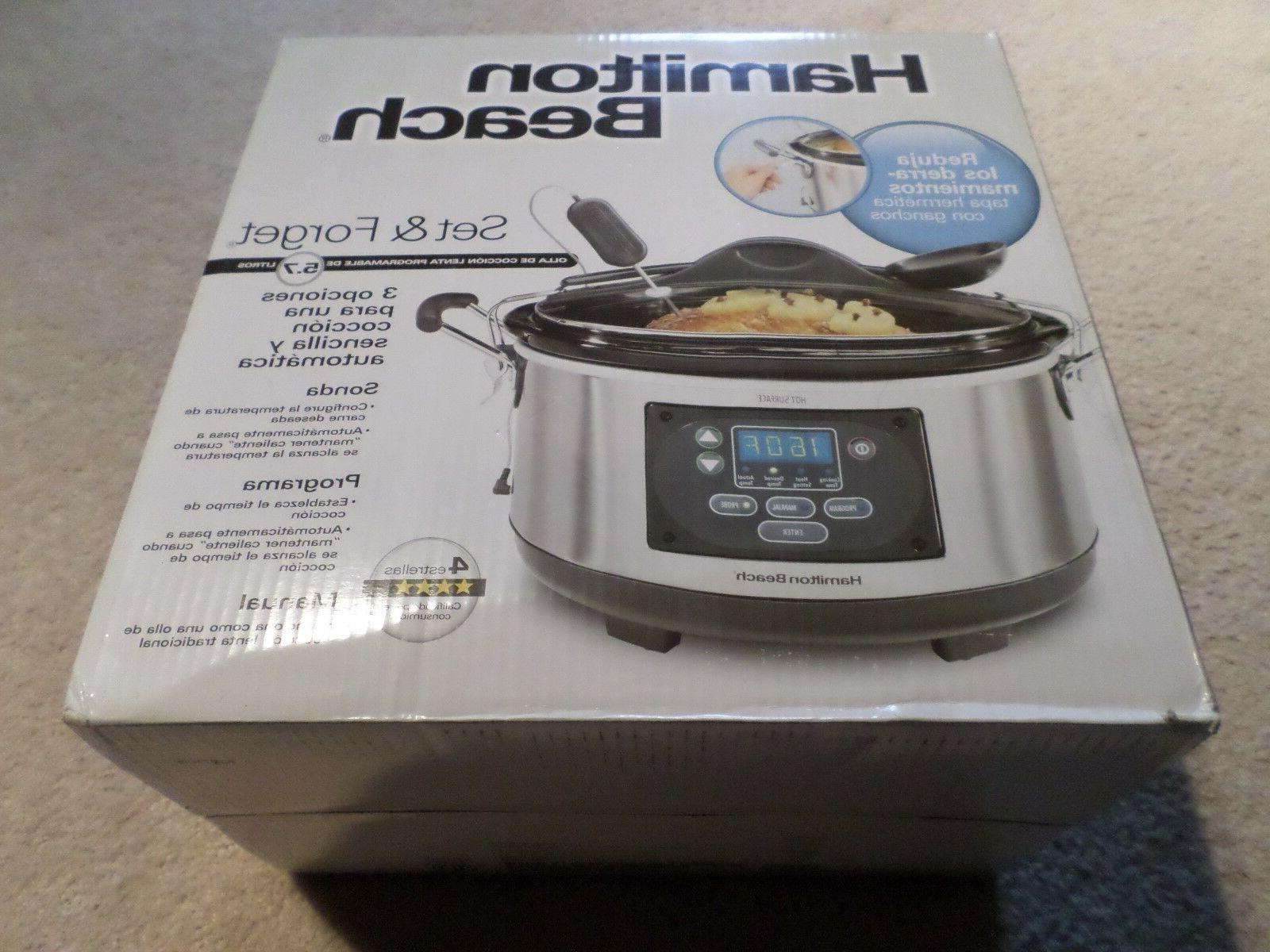 Hamilton Beach 'n Forget Cooker With Temperature