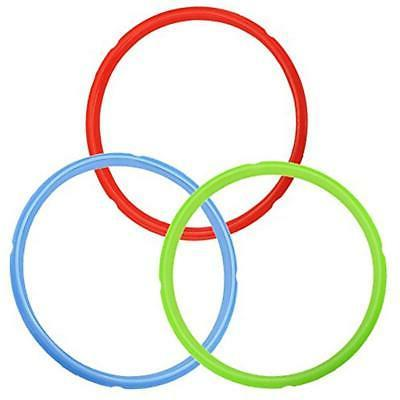 Silicone Sealing Ring Color Coded Savory For 6 5 Quart Instant