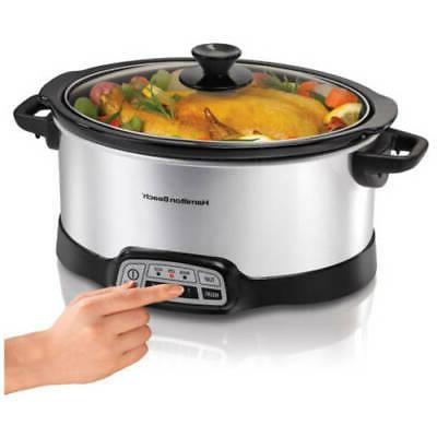 Hamilton Beach 33453 HB 5 Quart Slow Cooker