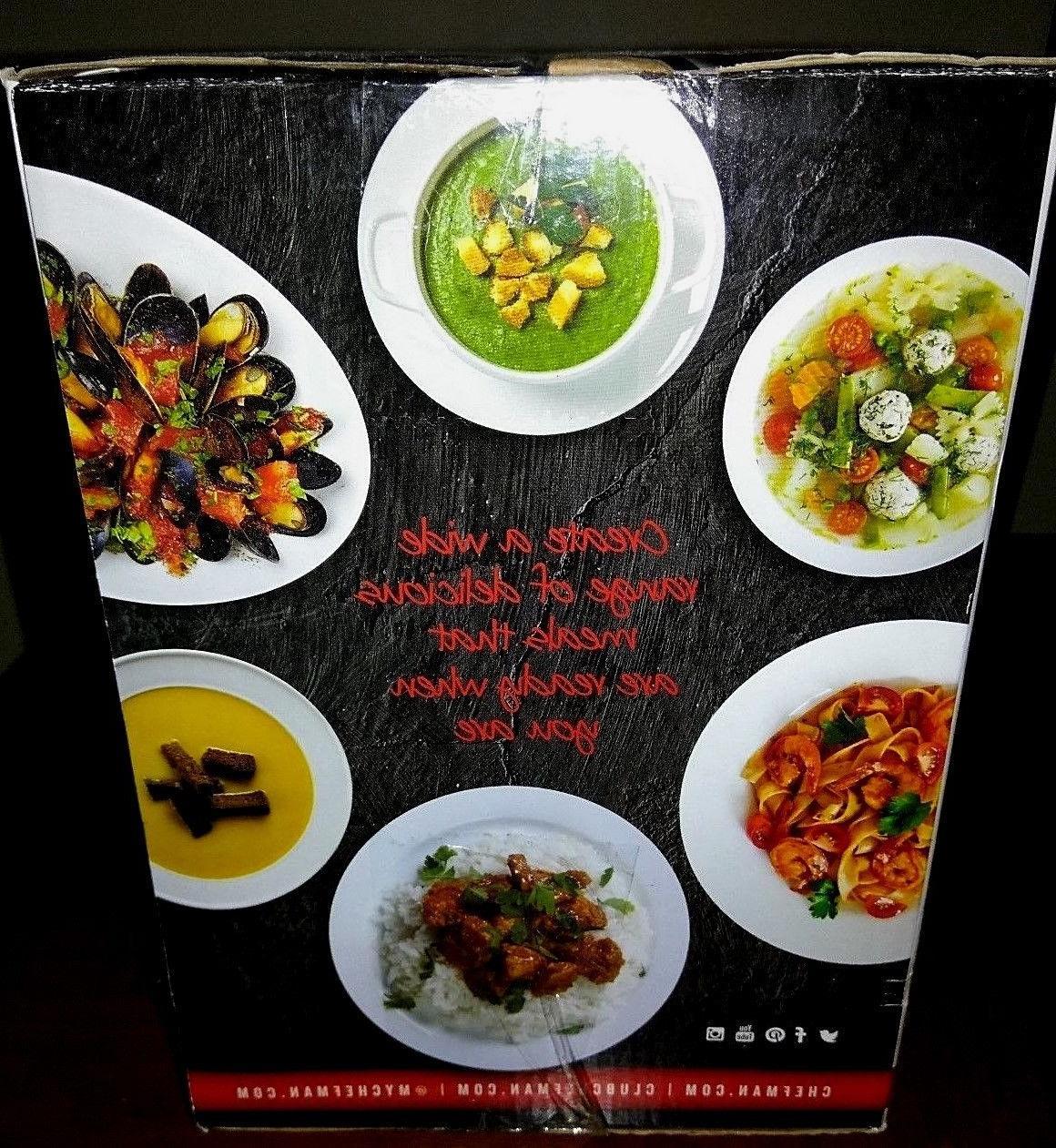 Chefman Quart Ideal 2 People Roast RJ15-15-OPP-BLK