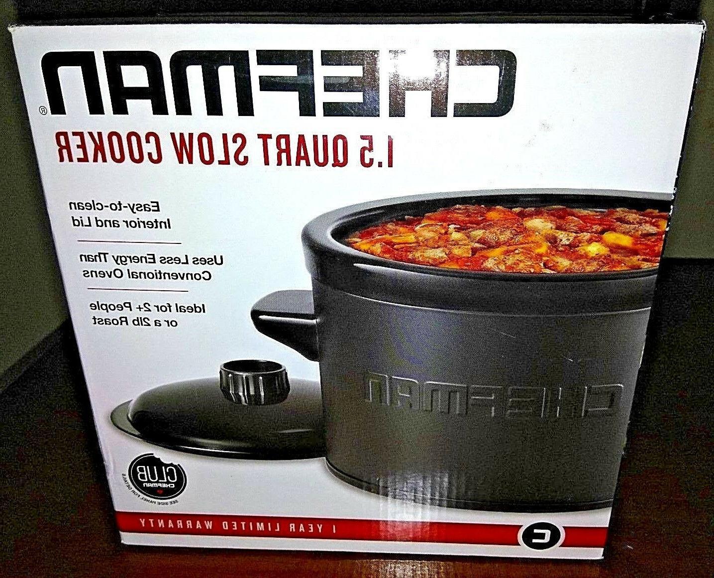 slow cooker 1 5 quart ideal