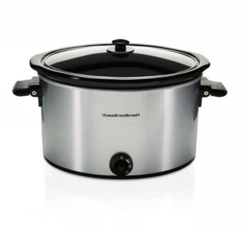 Hamilton Beach Cooker, 10 Quart Kitchen Crockpot Healthy Cooking