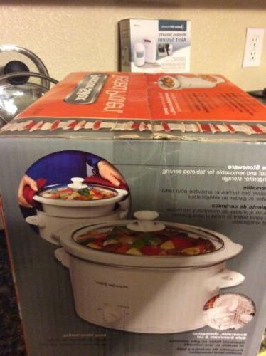 Slow Cooker*Proctor Silex*3 Capacity*New In Server