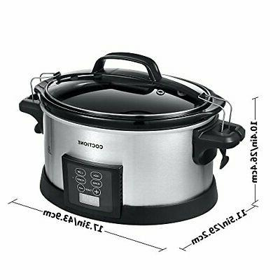 COCTIONE Quart Oval Cooker,