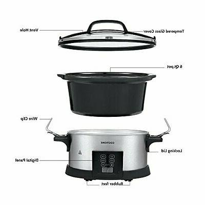COCTIONE Cooker Quart Shaped Cooker,