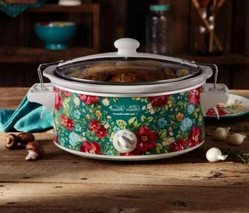 slow cooker 6 quart portable