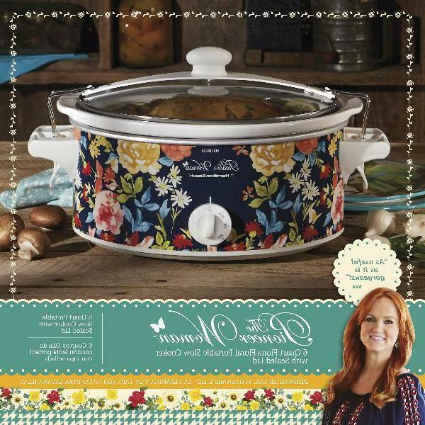 Slow Cooker 6 Carry Oval Manual Appliance