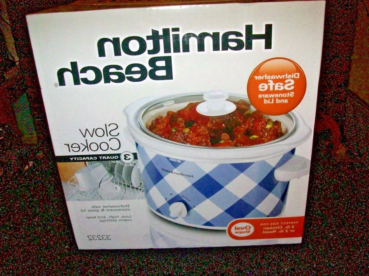 slow cooker new in box 3 qt