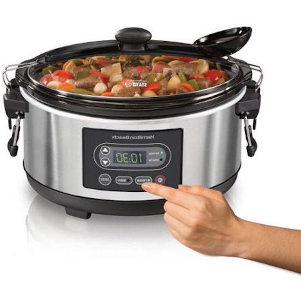 slow cooker oval 5qt programmable buffet dinner