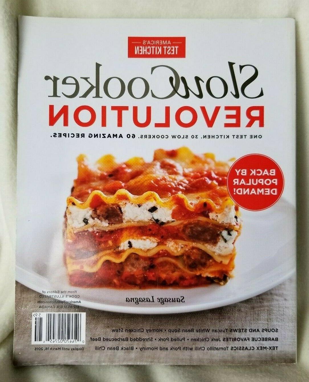 slow cooker revolution cookbook america s test