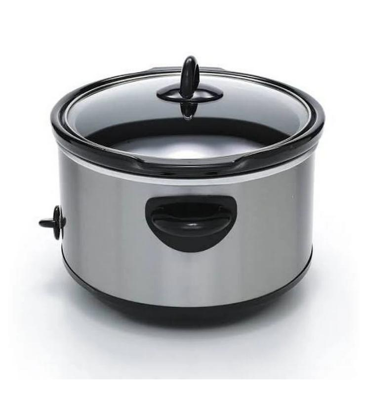 Slow Crock-Pot Manual Slow Cooker, Steel 7 qt,