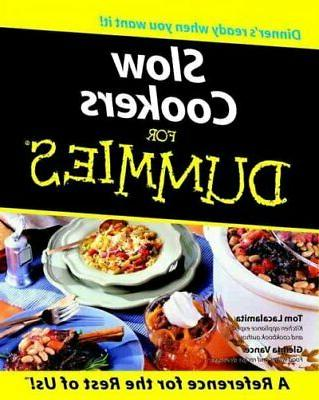 slow cookers for dummies paperback by lacalamita