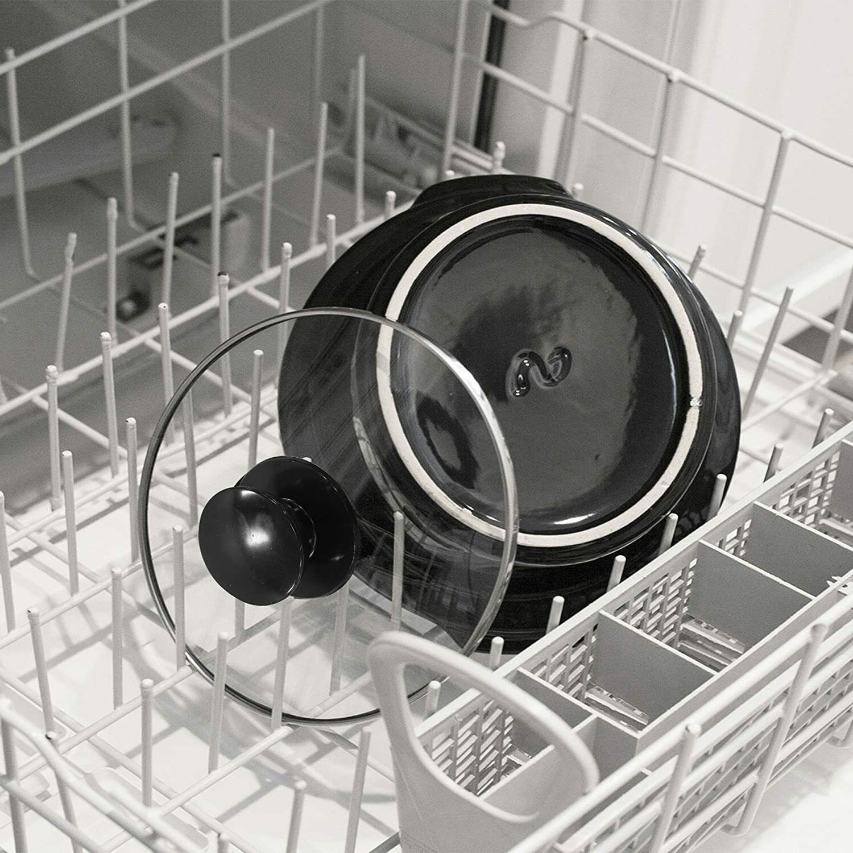 Small Slow Cooker Steel Crock Mini Kitchen Appliance