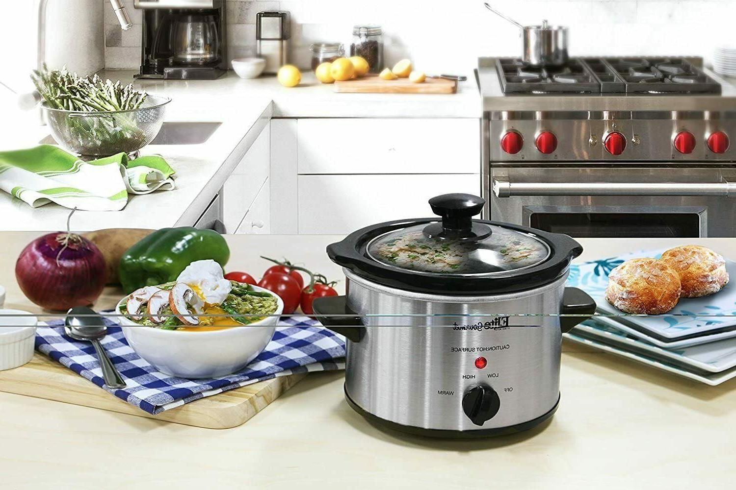Small Cooker Steel Kitchen Appliance