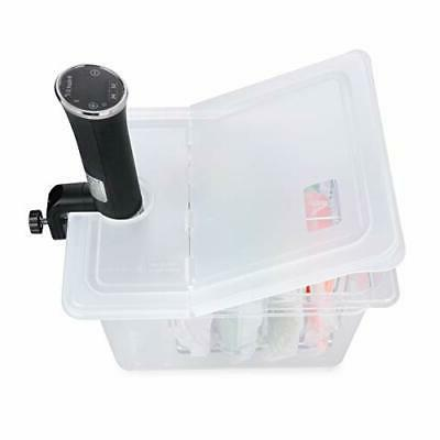 Sous Vide Container Quart Hinged