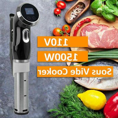 sous vide cooker immersion circulator slow cooking