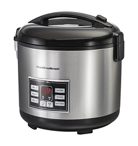 stainless steel rice cereal cooker