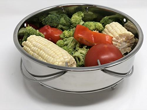 8 QT Pot or Must Have Combo, Steamer Basket and