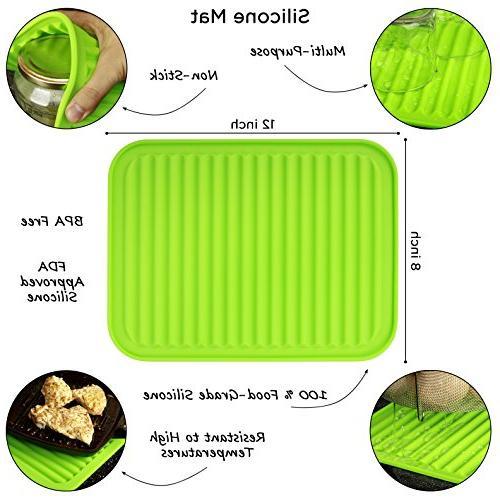 Boodva Instant Pot Accessories 6qt Steamer Basket Silicone Basket 6qt - - Vegetable Insert