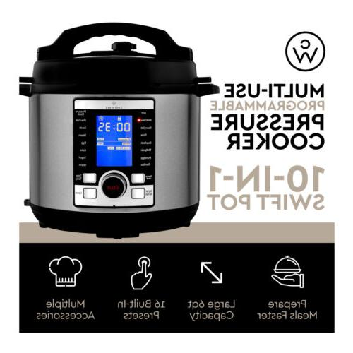 ChefWave 10-in-1 Multi-Use Digital Programmable