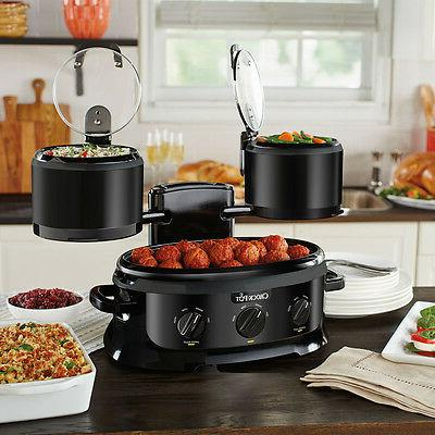 Crock-Pot Swing Serve Slow Cooker SCCPTOWER-B