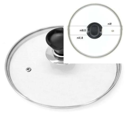 tempered glass lid accessory