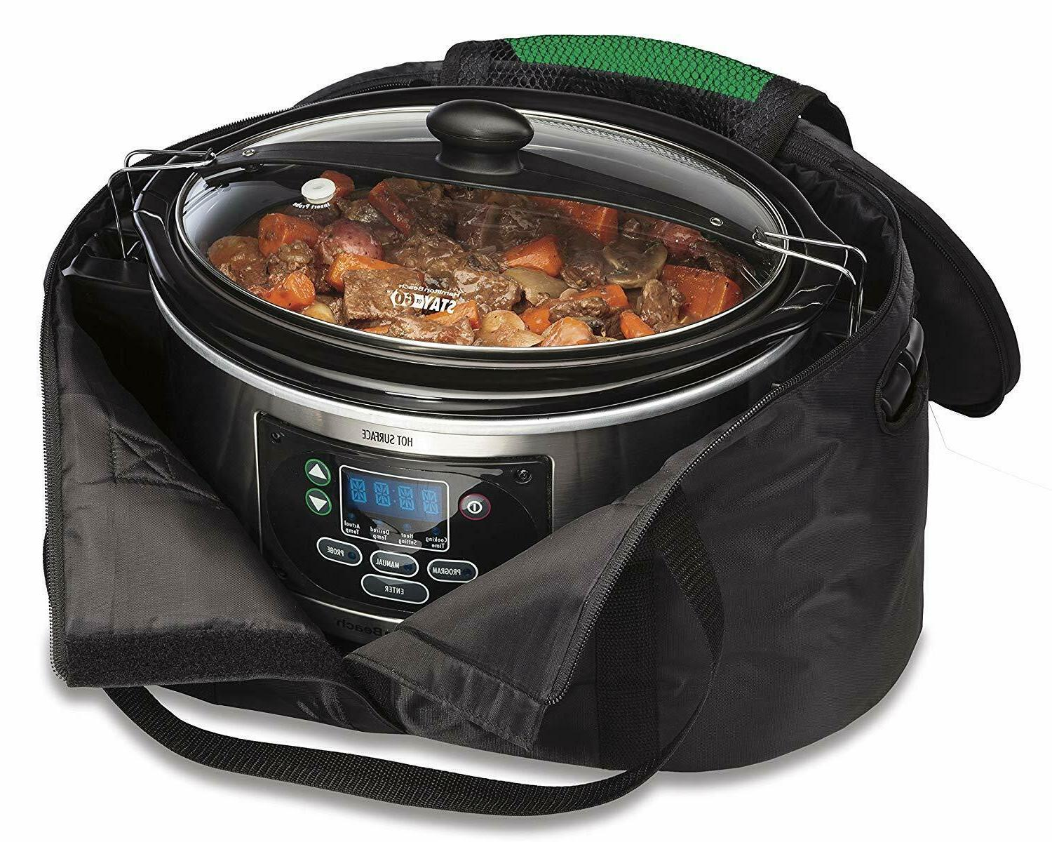 Hamilton Travel & for Quart Slow Cookers