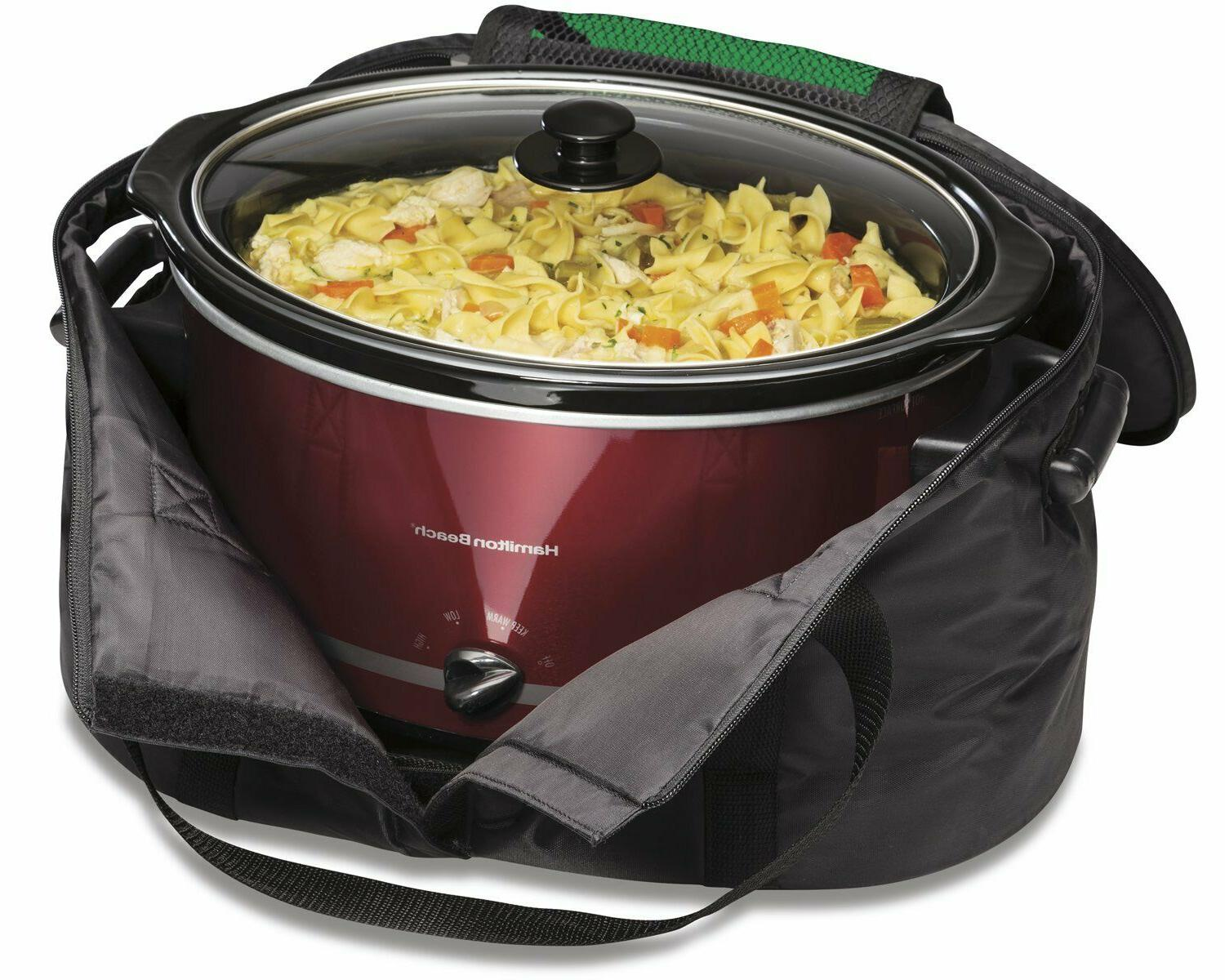 Hamilton Travel & for 4-8 Slow Cookers
