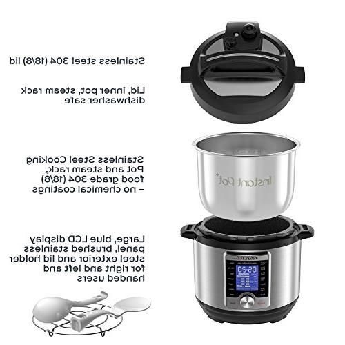 Instant Pot Ultra Qt 10-in-1 Multi- Cooker, Maker, Cake Cooker, Sauté, Warmer, and