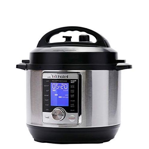 Instant Pot Ultra 3 Qt Programmable Pressure Cooker, Cooker, Rice Maker, Cake Maker, Cooker, and Sterilizer