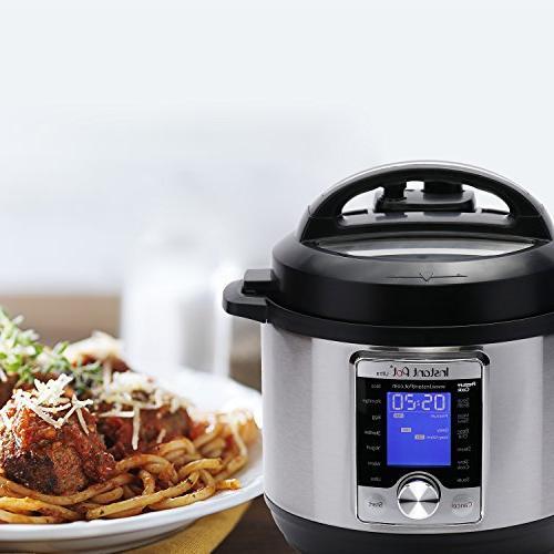 Instant Programmable Cooker, Cooker, Rice Cooker, Yogurt Maker, Cooker, and Sterilizer