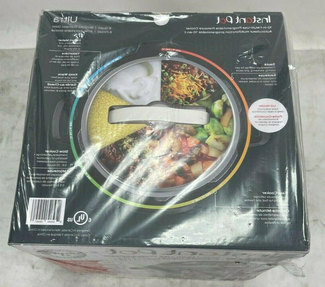 Instant Pot Ultra 6 Qt Cooker