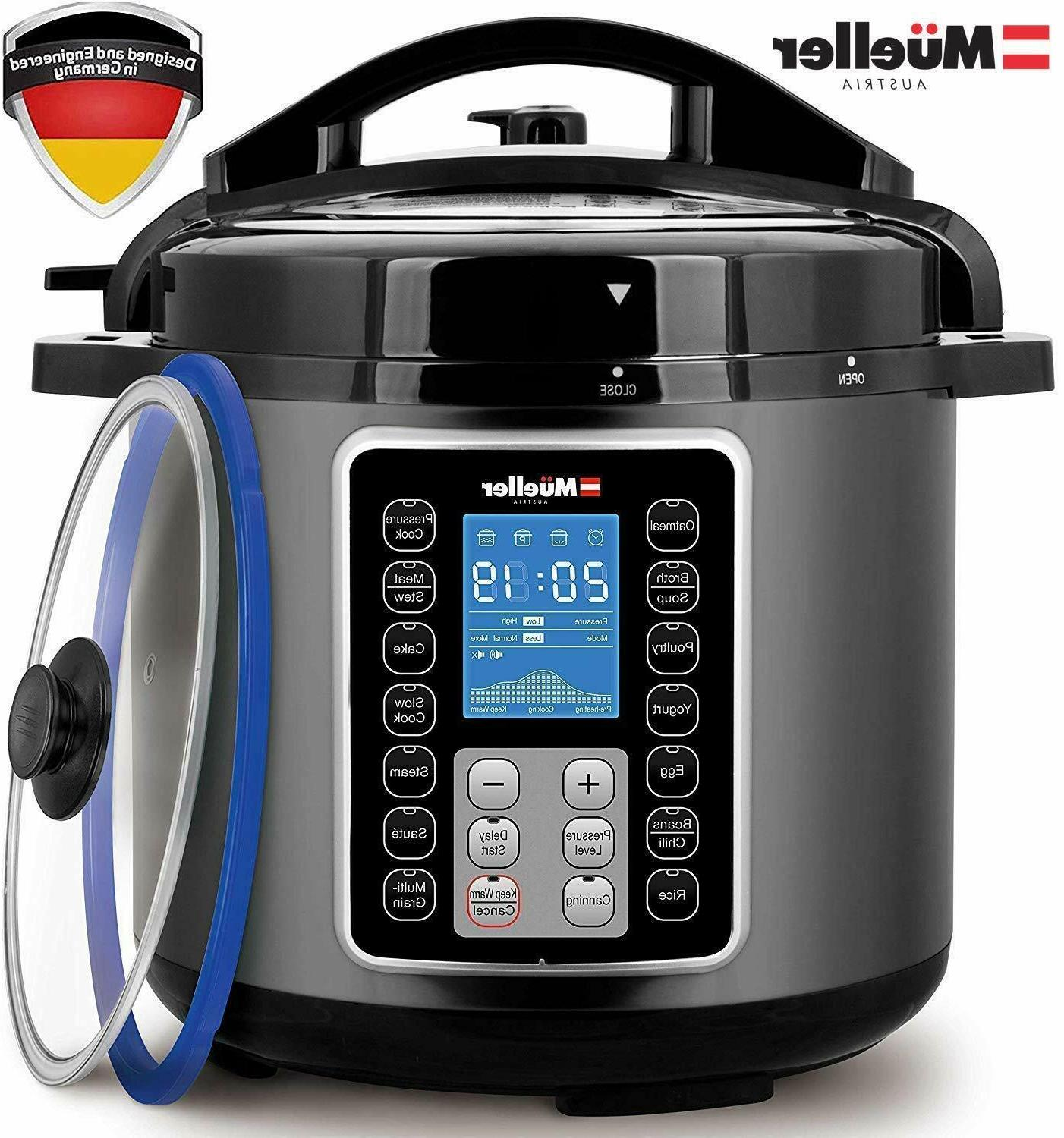 Ultra Cooker 15 in Programmable Instapot new