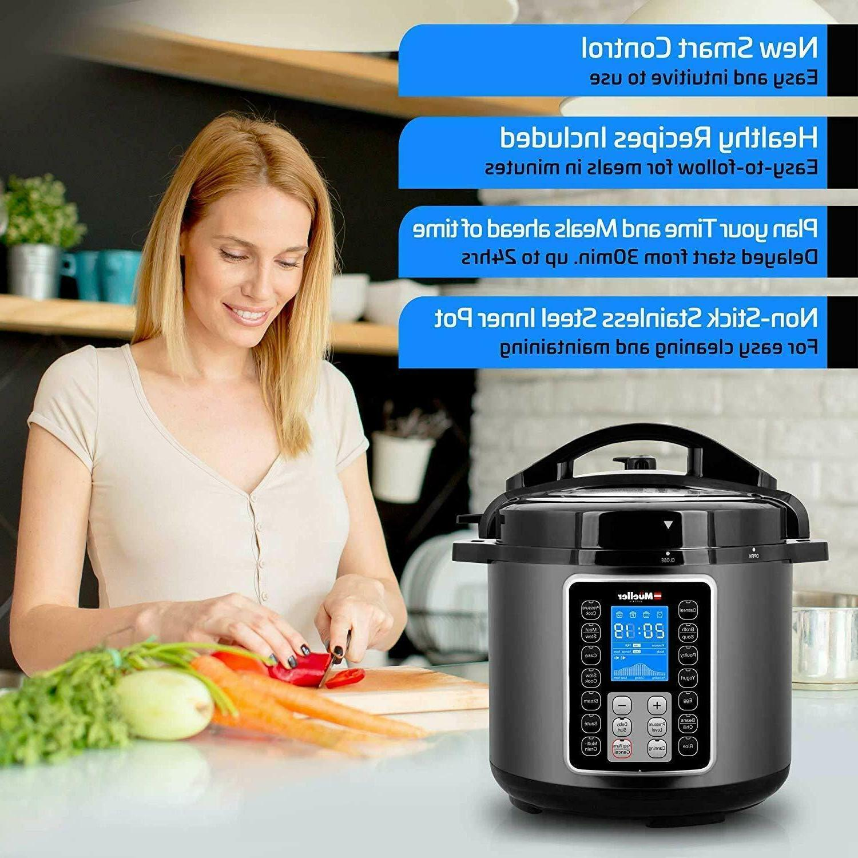 Ultra Cooker 1 Programmable 6 Instapot new