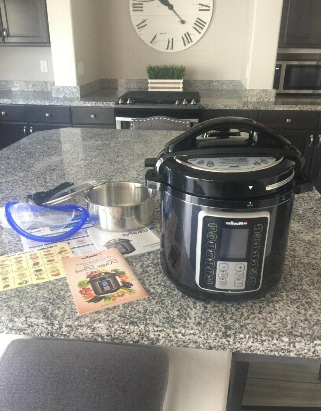 Ultra Pot Pressure Cooker 15 in Programmable Instapot new