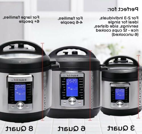 Instant Ultra Electric Pressure Stainless Steel,
