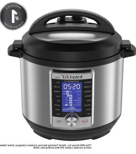 Instant Pot Ultra Electric Pressure Stainless Steel,