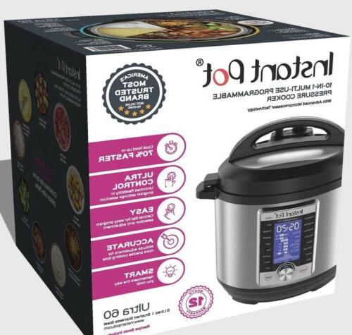 ultra smart electric pressure cooker stainless steel