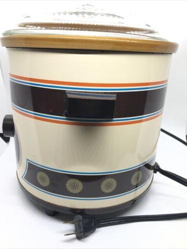 vintage crockpot cooker