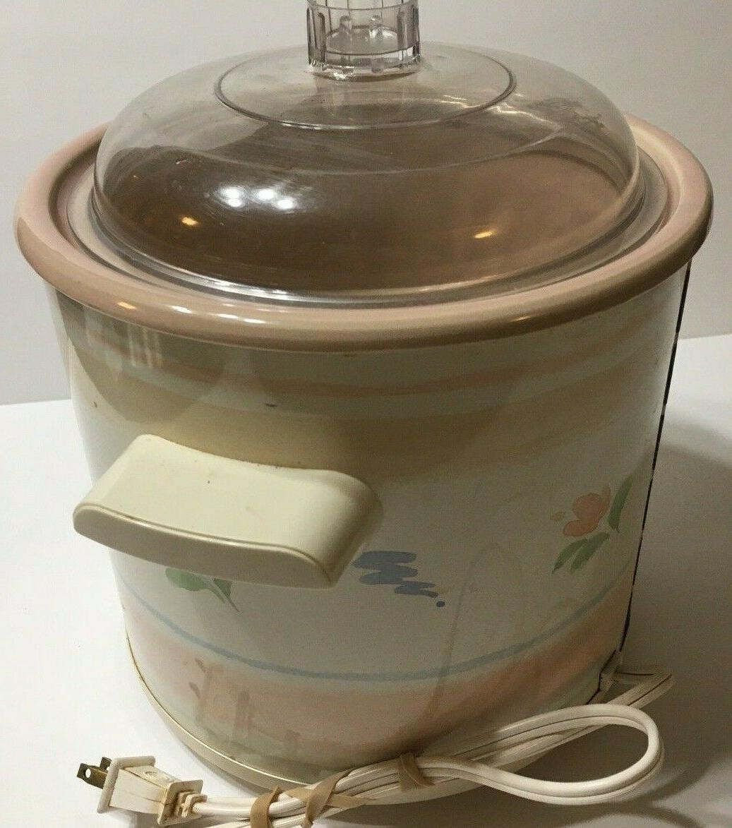 Vintage Stoneware Slow Cooker 3100/2 3.5 Quart