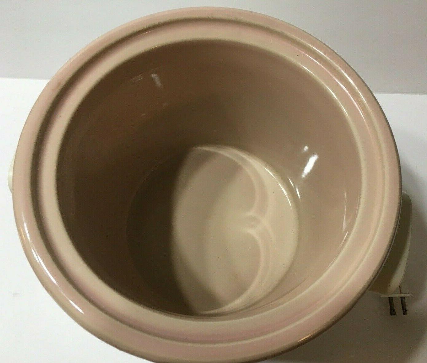 Vintage Stoneware Slow Cooker 3100/2