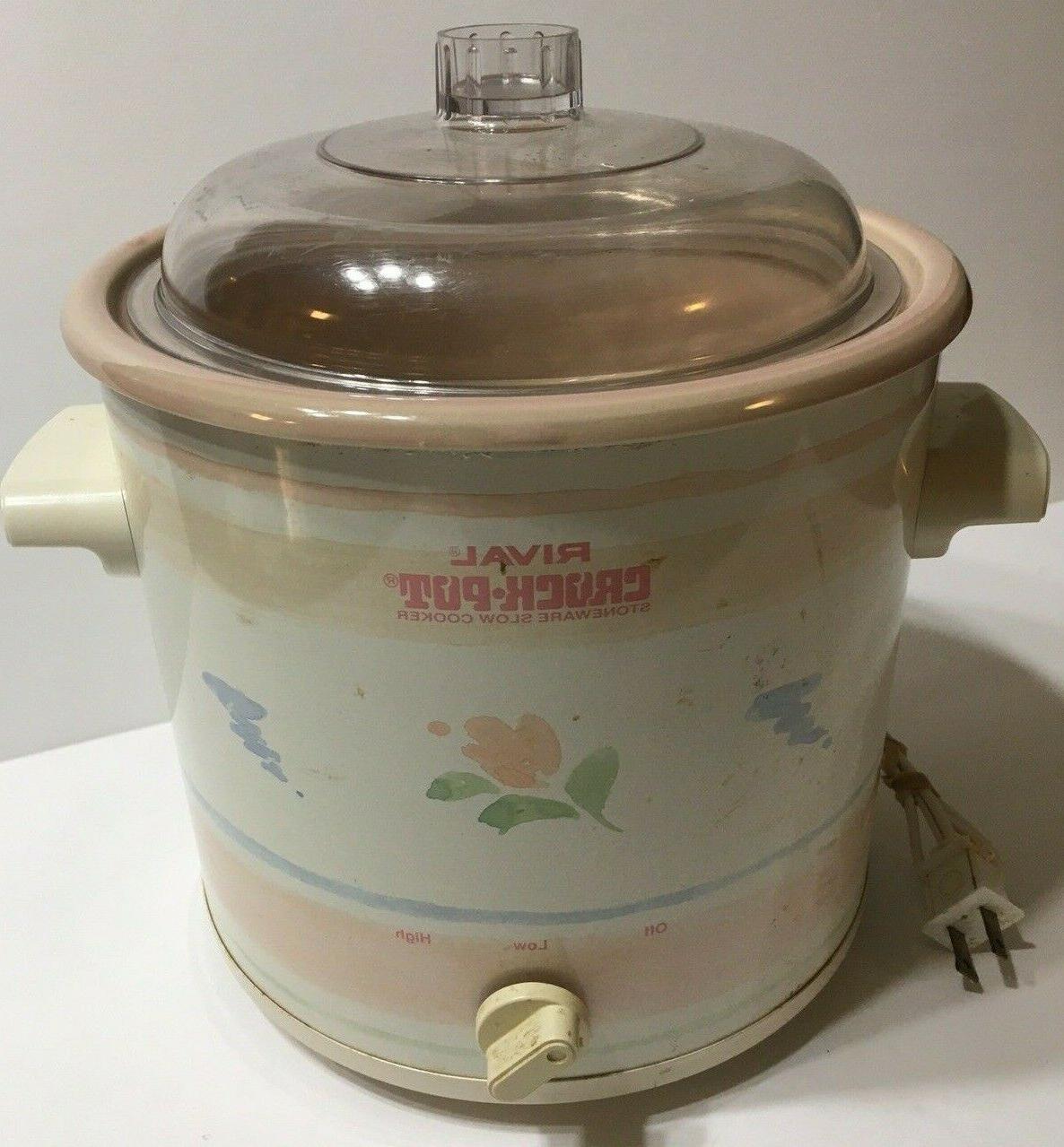 Vintage RIVAL Pot Stoneware 3100/2 3.5