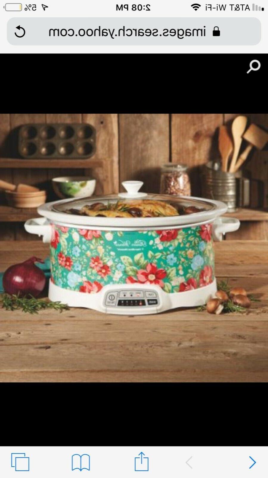 woman 7qt programable slow cooker