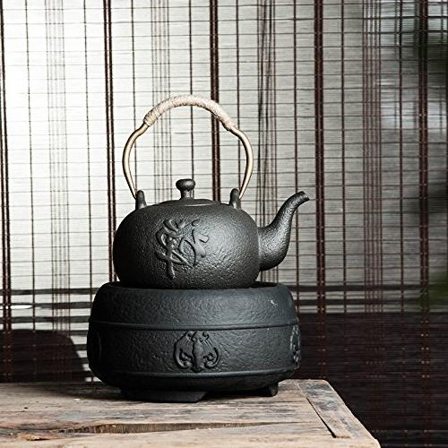 YONGJUN Ceramic 1.2L, Matte Finish Natural Zen Style