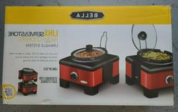 Bella Linkable Slow Cooker System Cooking And Entertaining S
